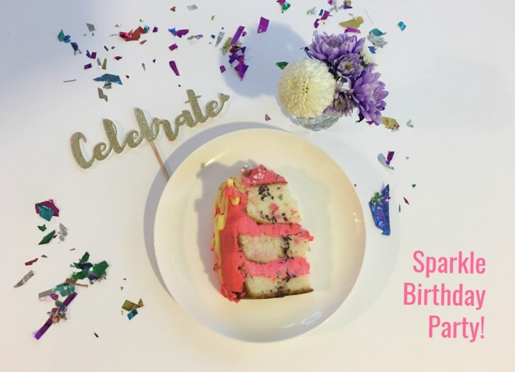 DIY Sparkle Birthday Party