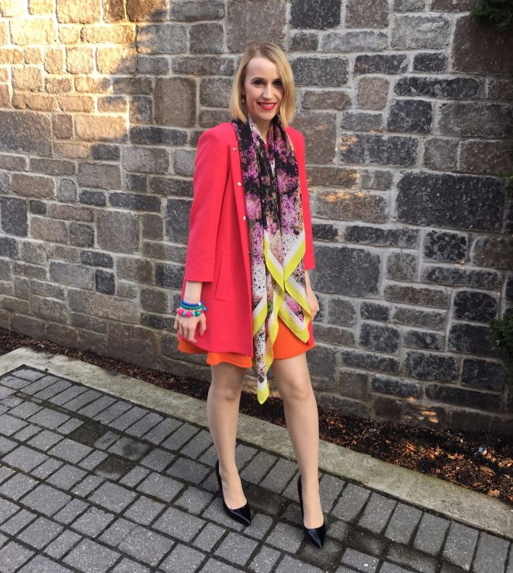 Pink Coat Easter Outfit