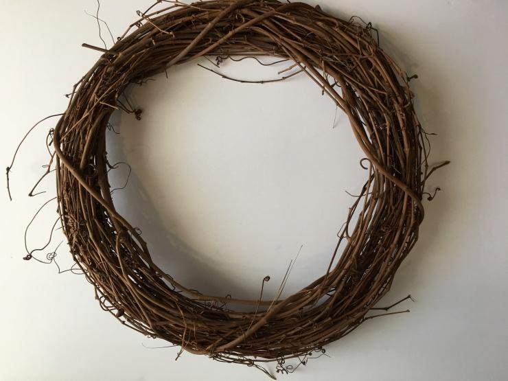 Branch Wreath Form