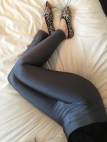 Grey American Apparel Leggings