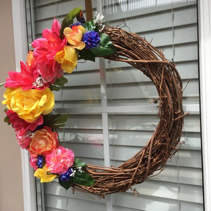 DIY Floral Wreath