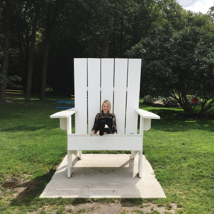 Giant Muskoka Chair