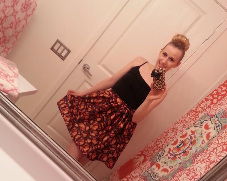 Monarch Butterfly Skirt
