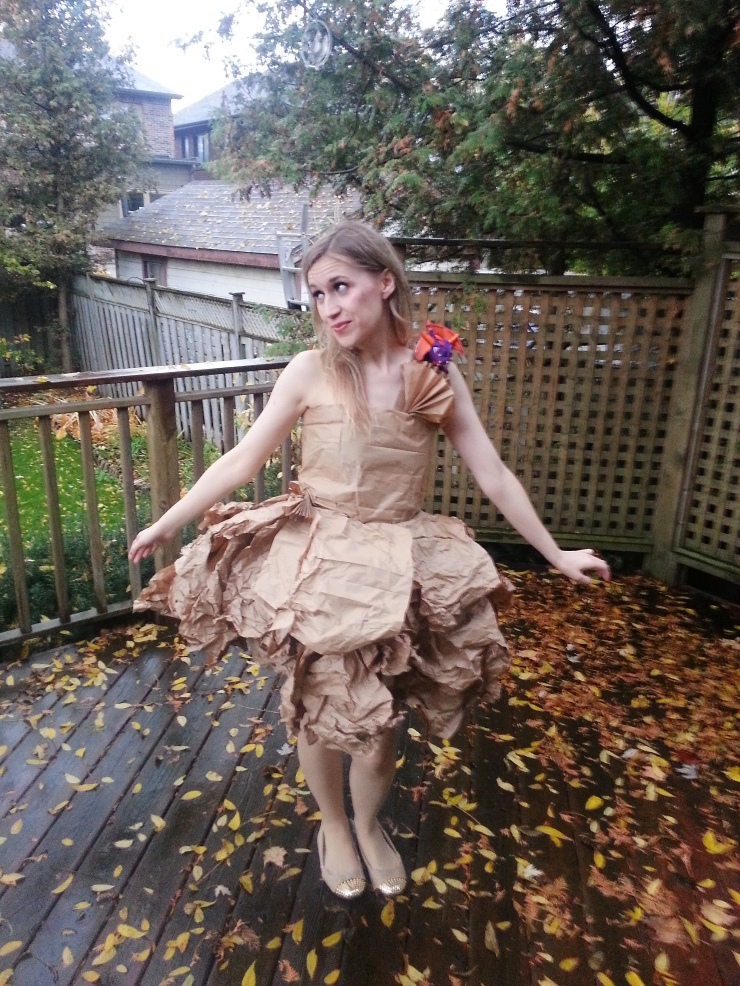 DIY PaperBag Princess Costume