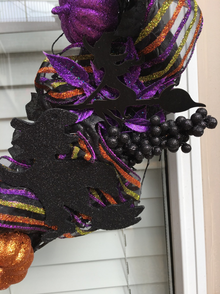 Witch Wreath detail