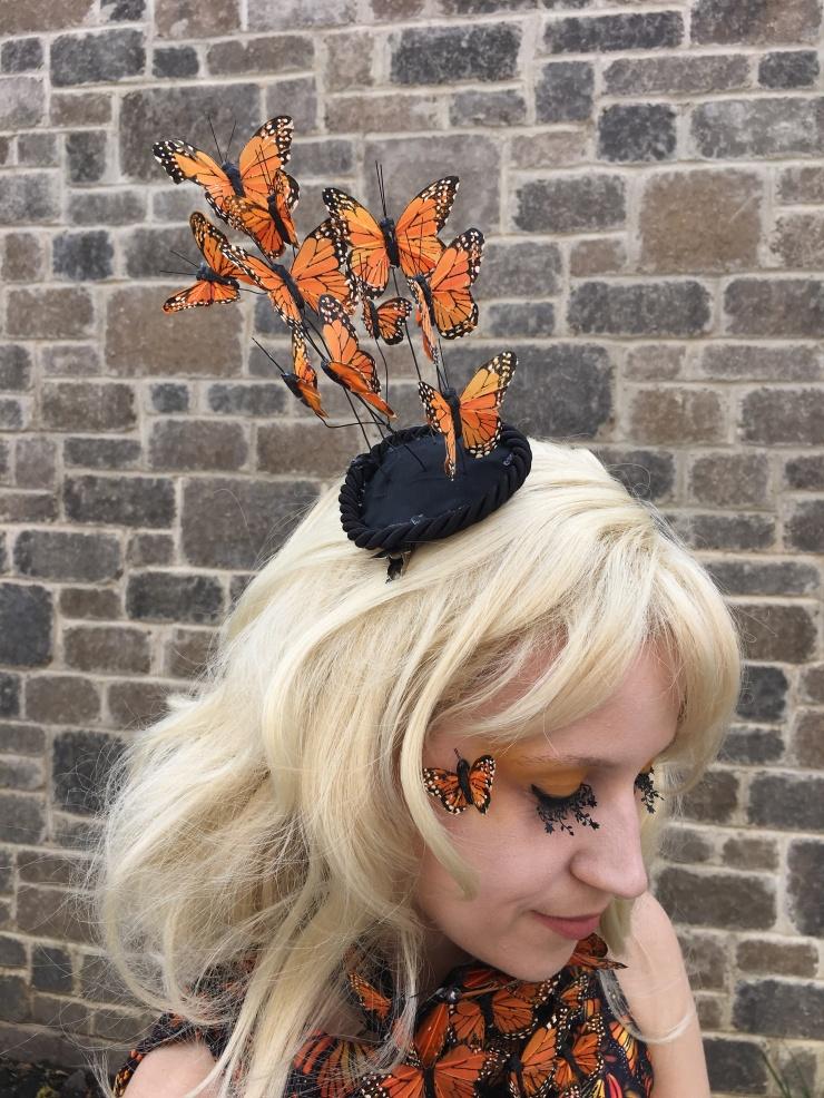 Effie Trinket Monarch Butterfly Costume