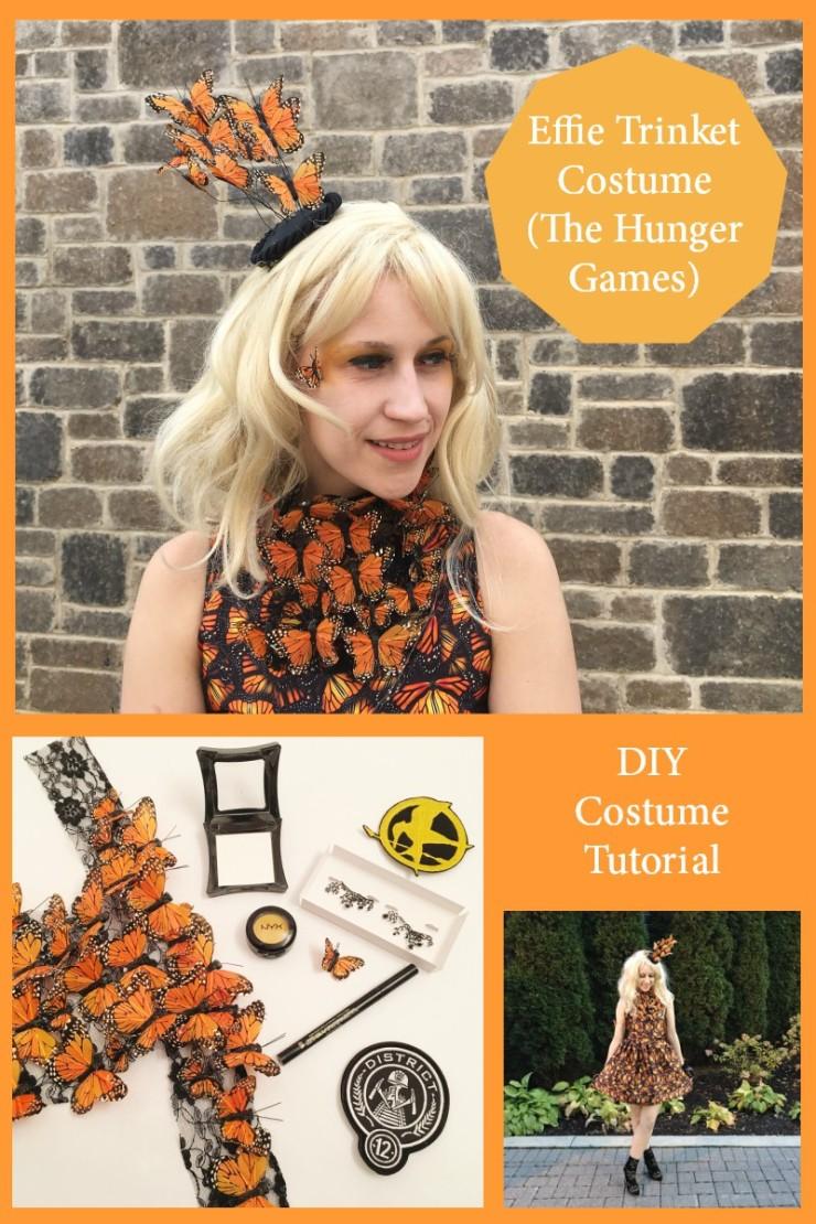 DIY Effie Trinket Costume Tutorial