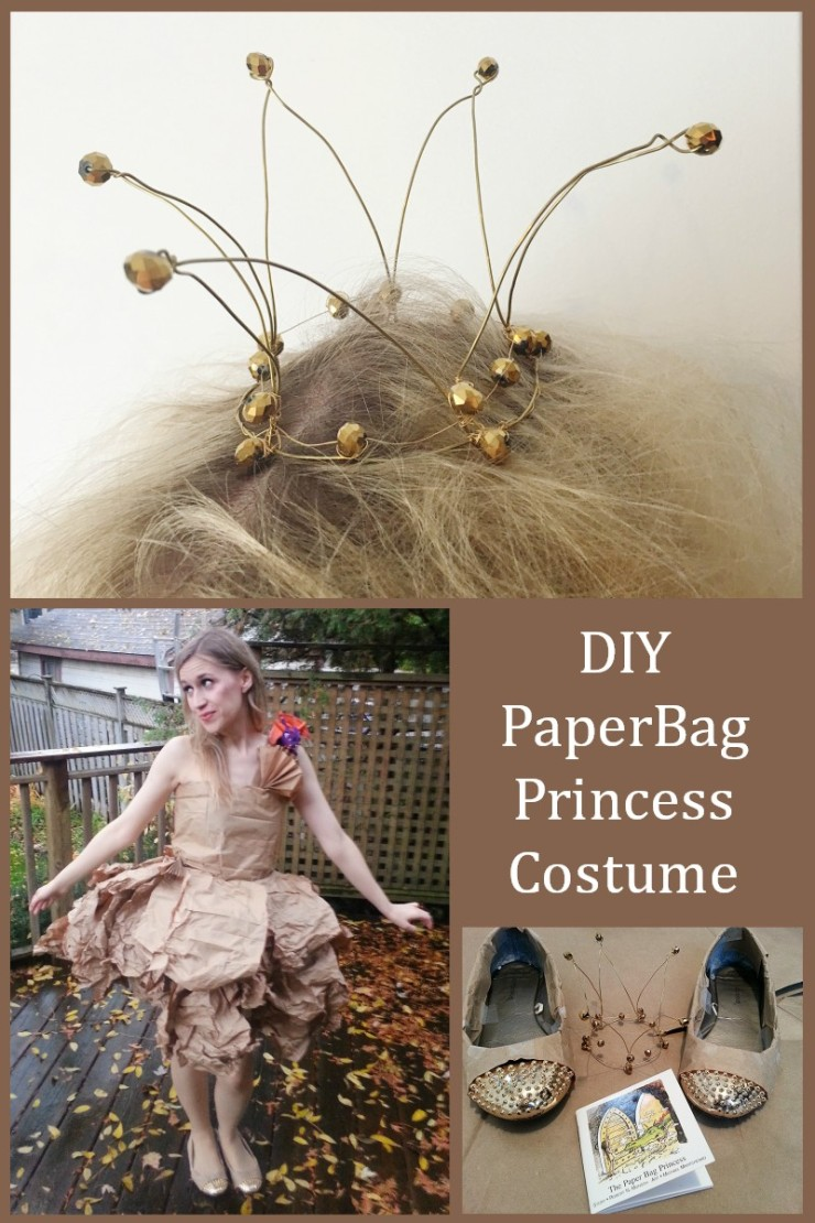 DIY PaperBag Princess Costume Tutorial