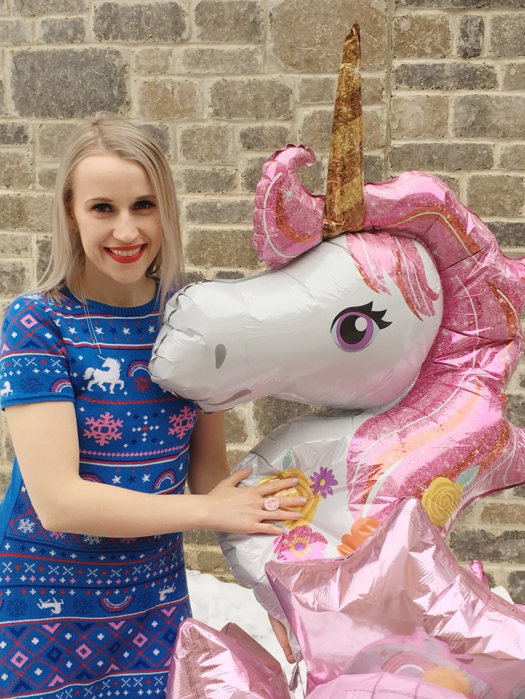 Ardene Christmas Unicorn Dress