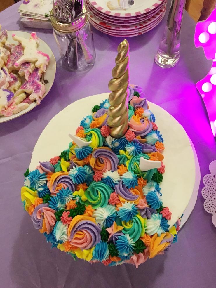 Unicorn Cake Mane