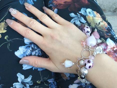 Etsy Pink Heart Bracelets