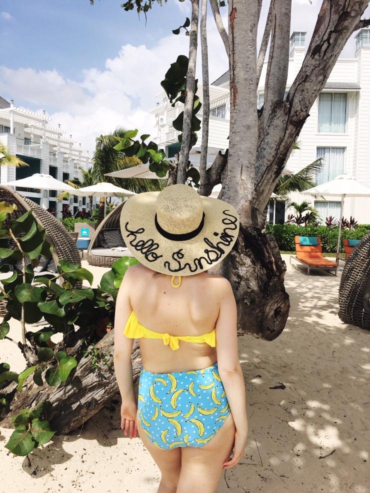 Hello Sunshine Banana Bikini